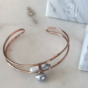 Samantha Wills pearl and stone bracelet